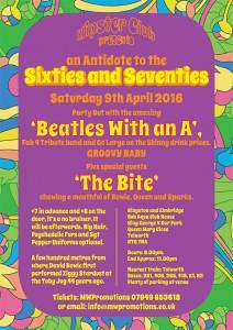 Beatles Event Flyer