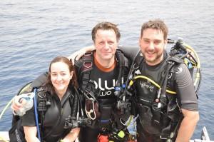 Leanne, Jon and Pete 2015