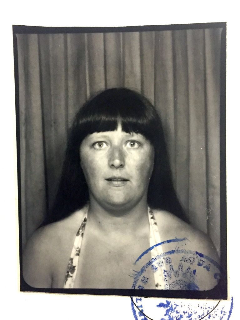 A Picture of Shirley when she first joined the club
