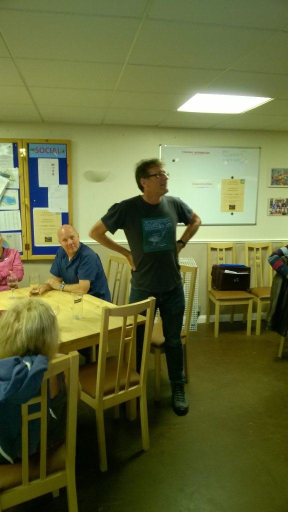 Kevin Morgan Telling Jokes and Celebrating his 60th Birthday