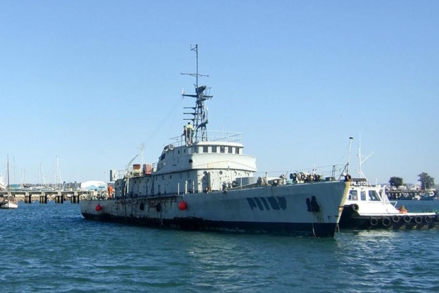 Ocean patrol boat Zambeze