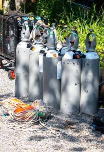 17 Army cylinders